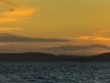 Sunset over the Kintyre Peninsular