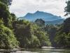 Mulu Peak from the river