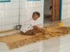 Weaving mat