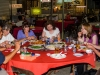 Final meal together in Kota Kinabalu