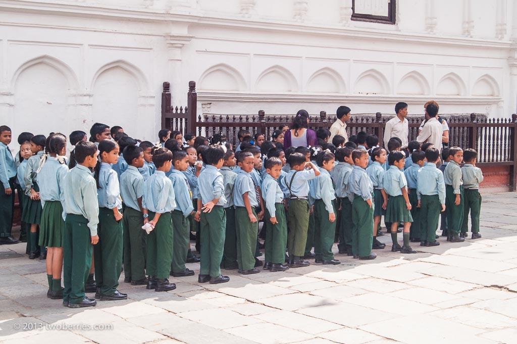 Schoolchildren, Kathmandu