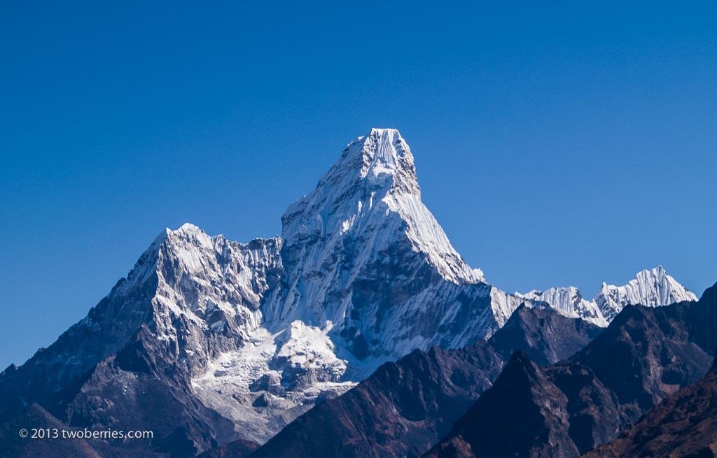 The beautiful peak of Ama Dablam