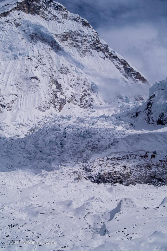 Icefall and the entrance to the Western Cwm