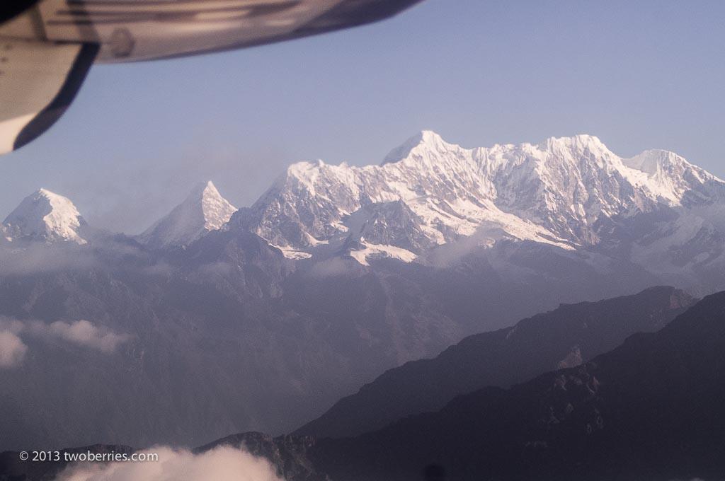 Annapurna and Machapuchare, Nepal