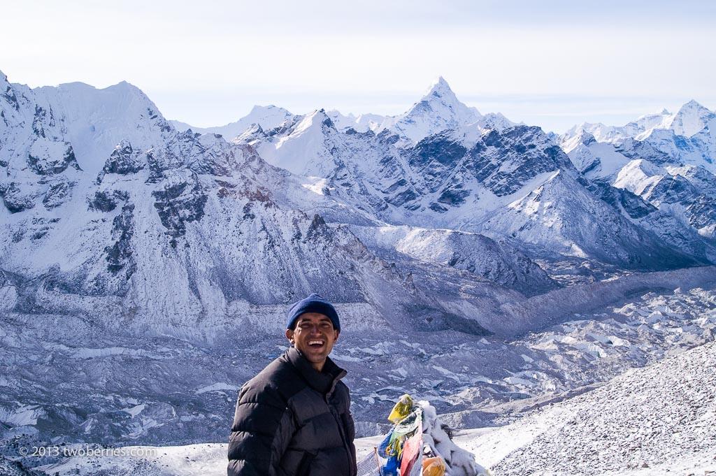 Hari, our guide, on Kala Pattar