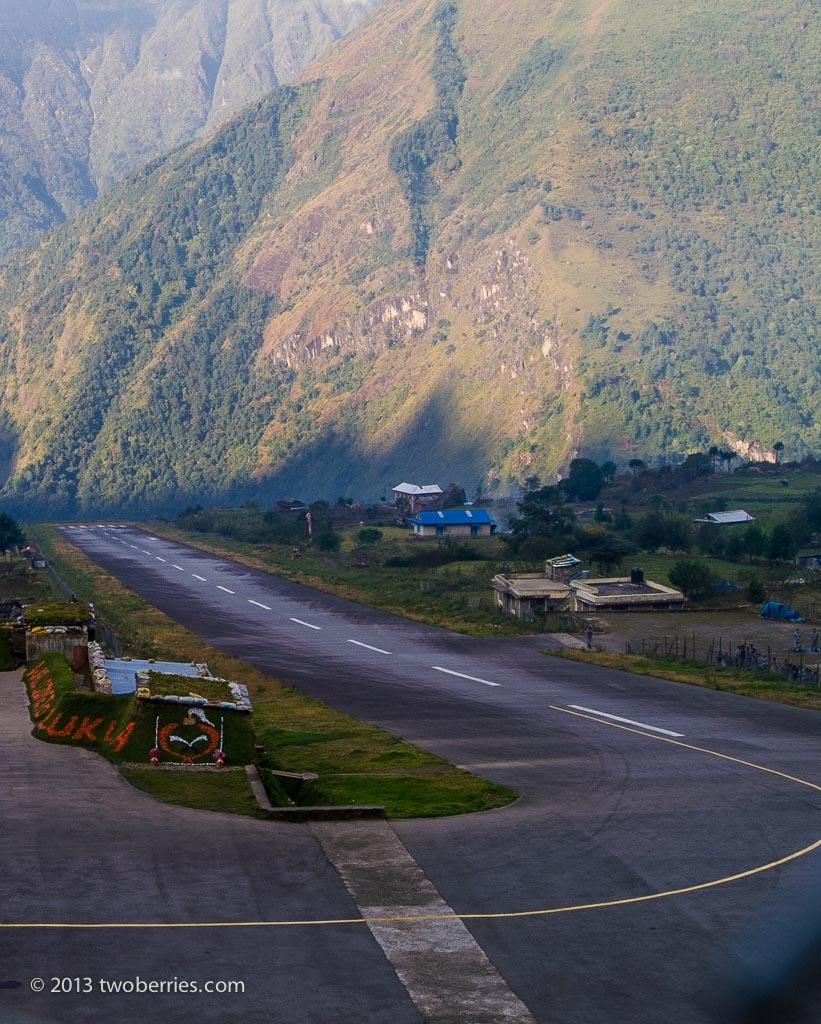 Airstrip at Lukla