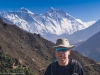 Me, with Everest, Nuptse and Lhotse behind