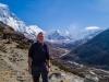 Me, above Dinboche on the ascent of Narastan Peak