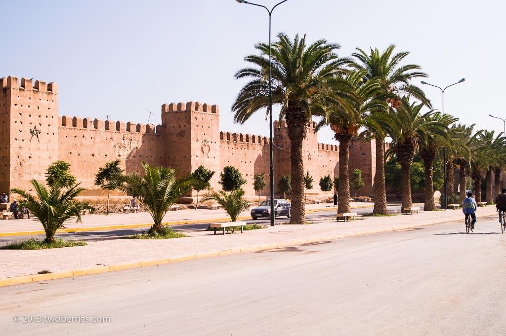 City walls, Taroundant