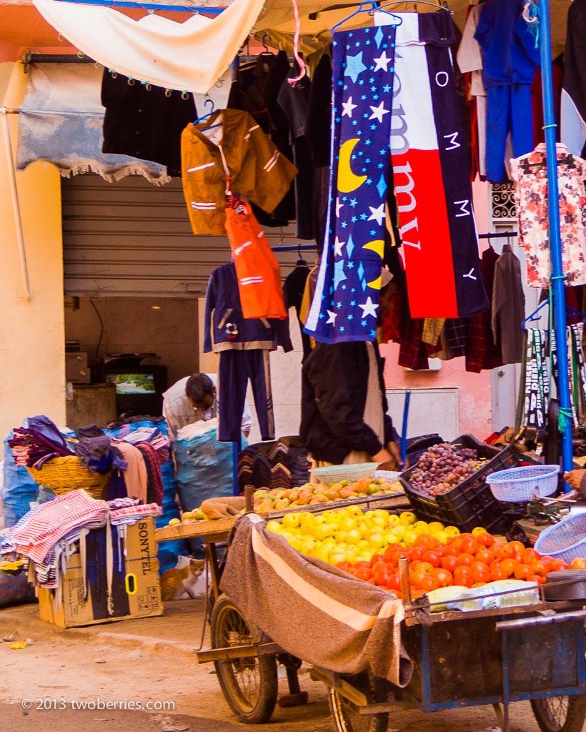 Street market, Taroundant