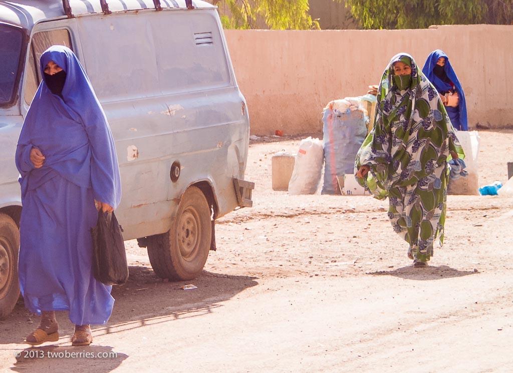Moslem women, Taroundant
