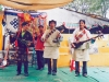 Tibetan musicians, Norbulinka, Lhasa, Tibet