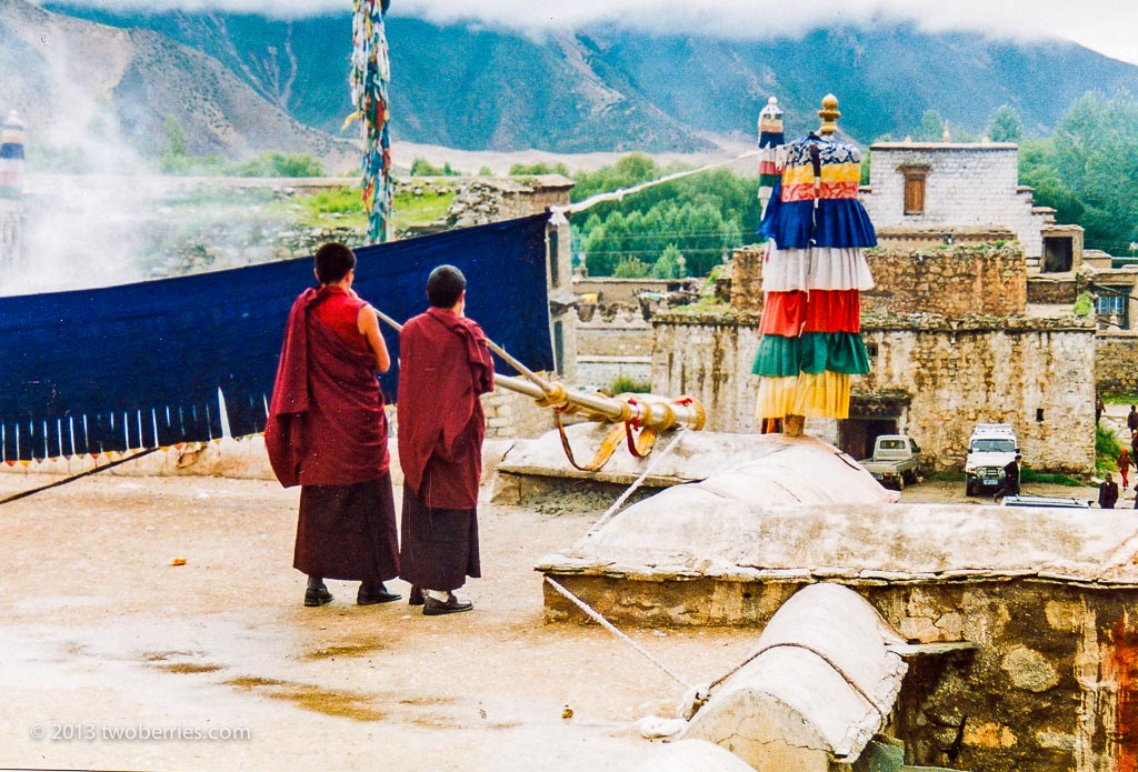 Monks, Samye Monastery