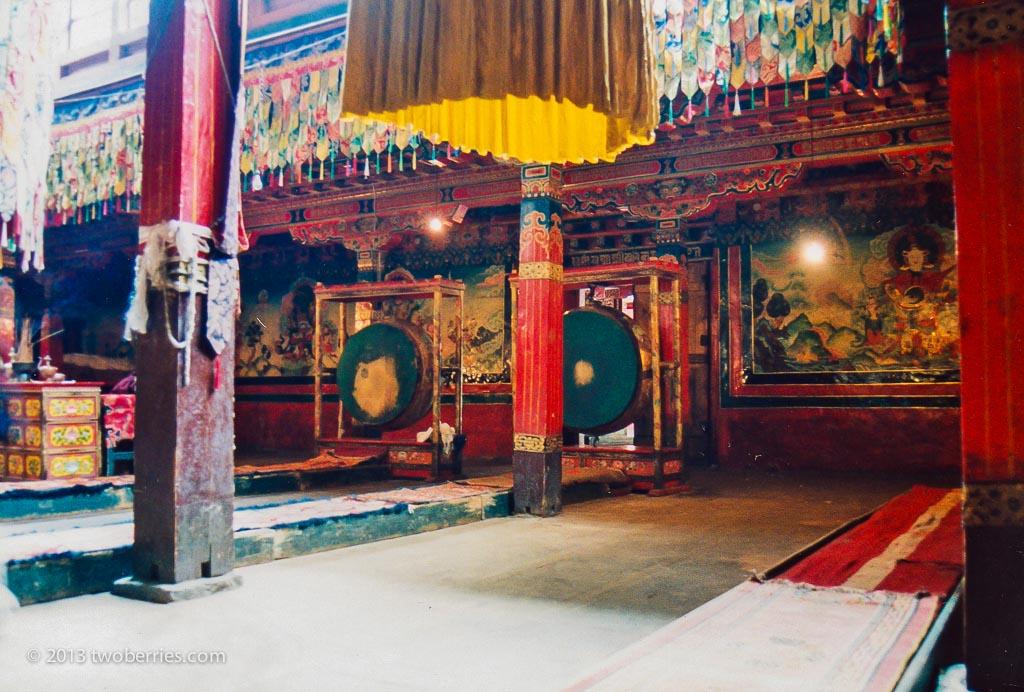 Temple interior, Tsurpu
