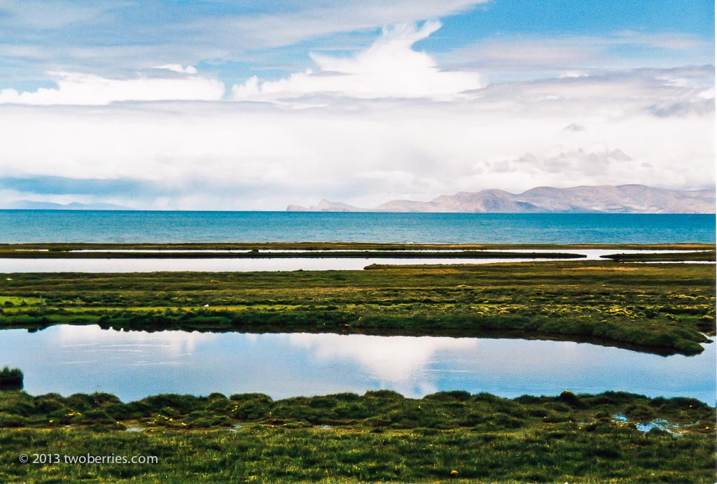 Namtso, a saltwater lake, Tibet