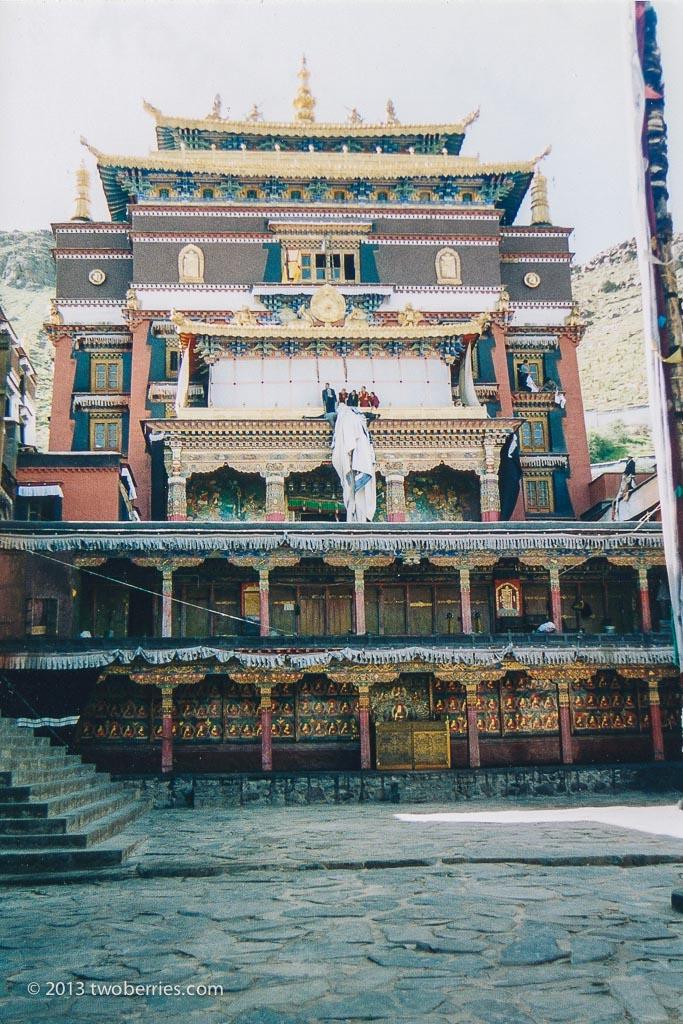 Temple, Zhashenlunbu Monastery, Shigatse