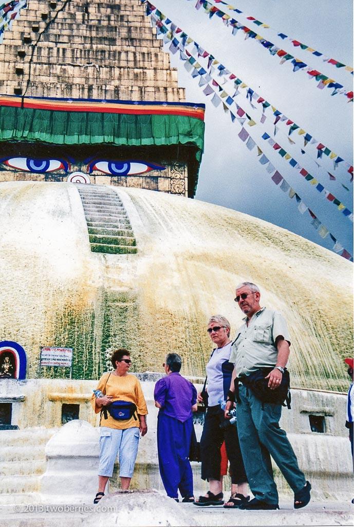 Bodinath Stupa, Kathmandu