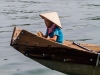 Child on boat, Perfume River