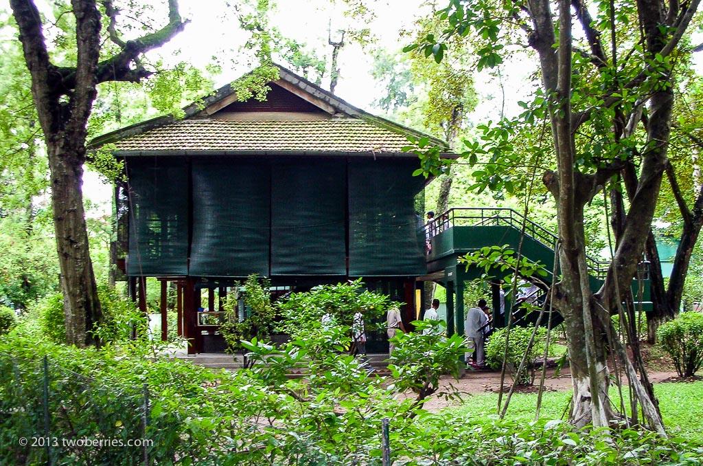 Ho Chi Minh's house, Hanoi