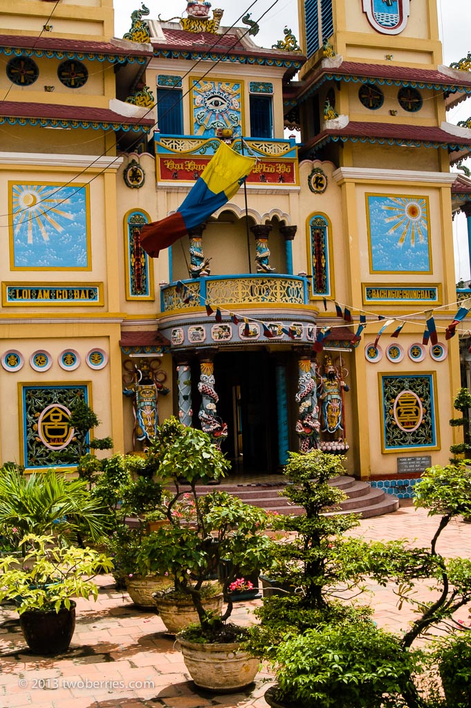 Temple, Mekong Delta